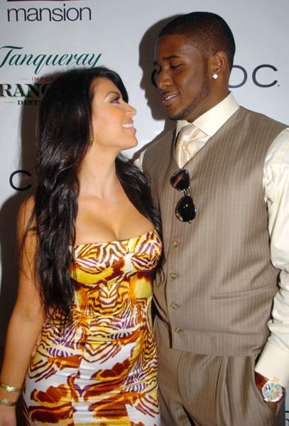 reggie bush and kim kardashian. Kim Kardashian won#39;t be