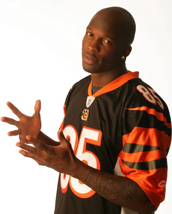 chad ochocinco wife. NFL star Chad Ochocinco is